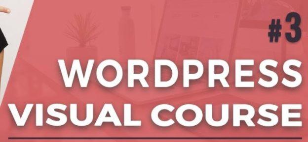 Este curso en inglés te enseñará a crear una web en WordPress sin saber código (Visual)